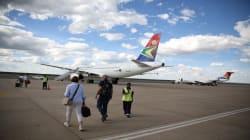 SAA Cargo Planes Temporarily