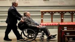 L'ex-président américain George H.W. Bush