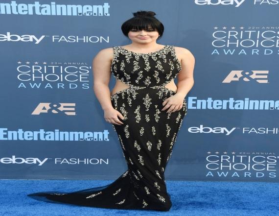 Ariel Winter debuts bangs at Critics' Choice Awards