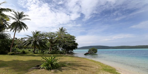 HONIARA, GUADALCANAL ISLAND, SOLOMON ISLANDS - SEPTEMBER 17:  The lodge and private beach where Catherine, Duchess of Cambridge and Prince William, Duke of Cambridge are to spend the night on the island of Tuvanipupu on their Diamond Jubilee tour of the Far East on September 17, 2012 in Honiara, Guadalcanal Island. Prince William, Duke of Cambridge and Catherine, Duchess of Cambridge are on a Diamond Jubilee tour representing the Queen taking in Singapore, Malaysia, the Solomon Islands and Tuvalu.  (Photo by Chris Jackson - Pool/Getty Images)
