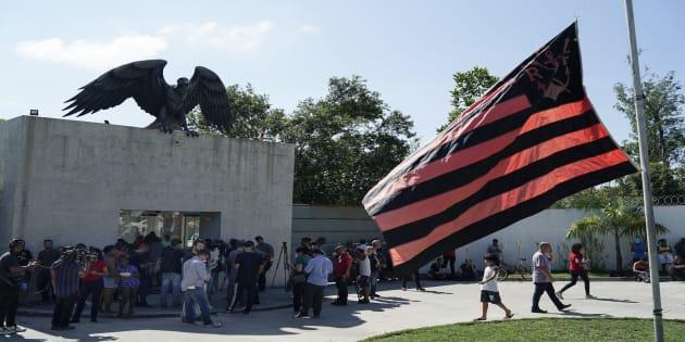 Instalaciones del club Flamengo a las afueras de Rio de Janeiro, Brasil.