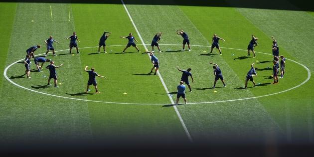 Juan Carlos Osorio dio a conocer la alineación del partido de México contra Suecia para definir la clasificación a octavos de final.