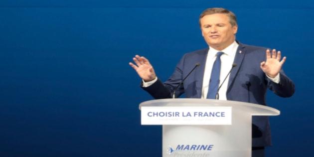 """Nicolas Dupont-Aignan nie catégoriquement s'être rallié au Front National, """"jamais"""""""