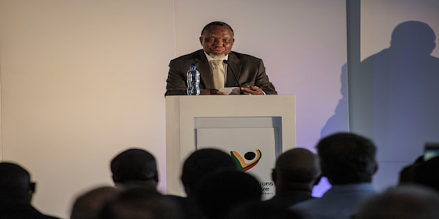 Former president Kgalema Motlanthe speaks during the National Foundations Dialogue initiative on May 5, 2017, in Johannesburg.