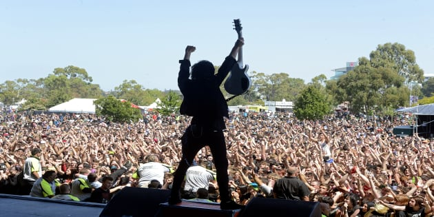 Three people remain in hospital after many people overdosed at a Melbourne music festival on the weekend.