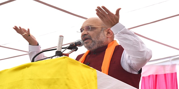 BJP President Amit Shah in a file photo.