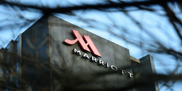 中国のマリオットホテル
