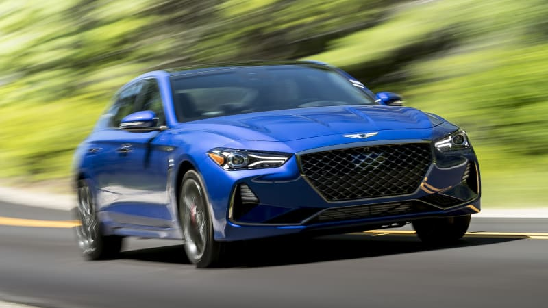 review 2019 genesis g70 sedan autoblog. Black Bedroom Furniture Sets. Home Design Ideas
