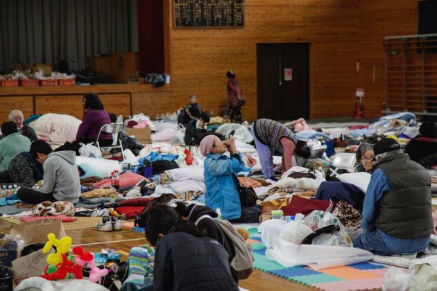 日本の避難所は難民キャンプ以下