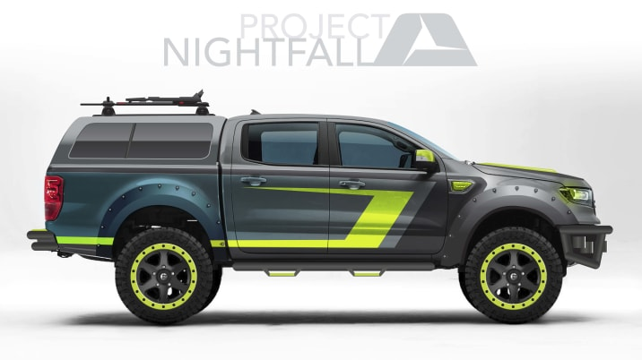 2019 ARE Ford Ranger Nightfall SEMA concept