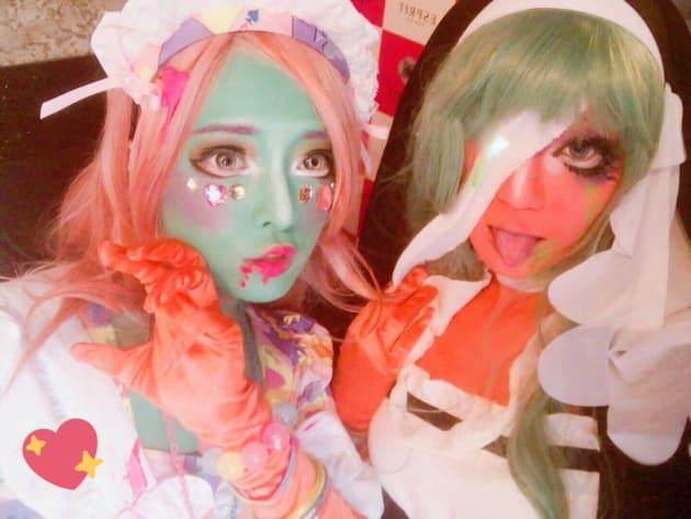 「歌舞伎町ハロウィン」に参加した異色肌ギャル