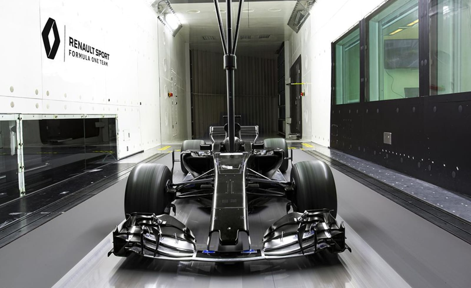 Renault Enstone wind tunnel
