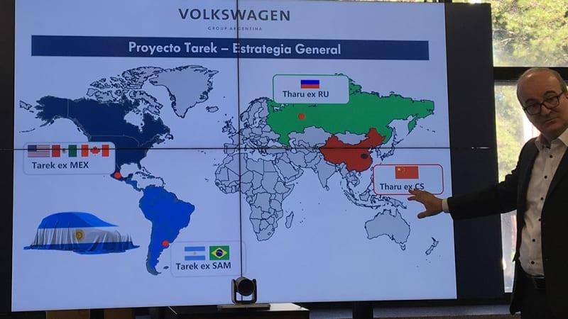VW Tarek coming to America