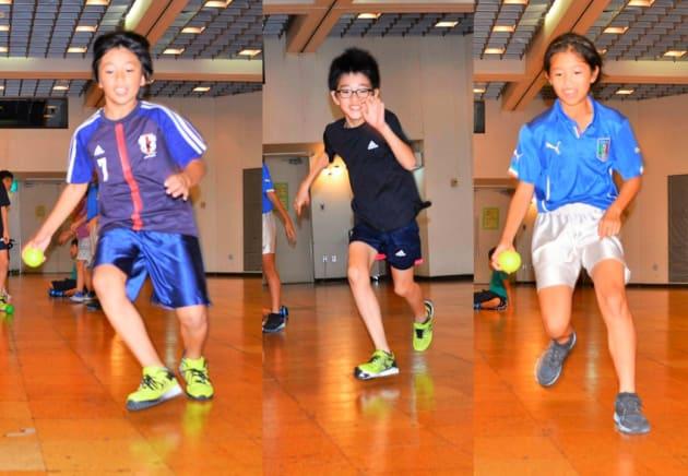 「葛飾ソシオ」のスポーツ教室の様子