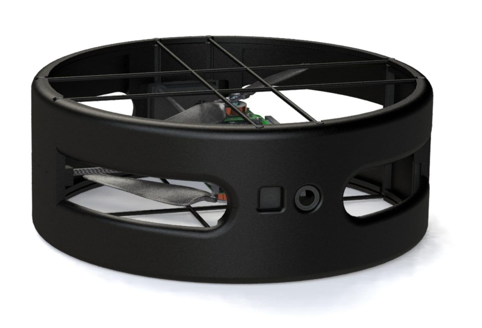 Flybotix long-endurance dual-prop drone