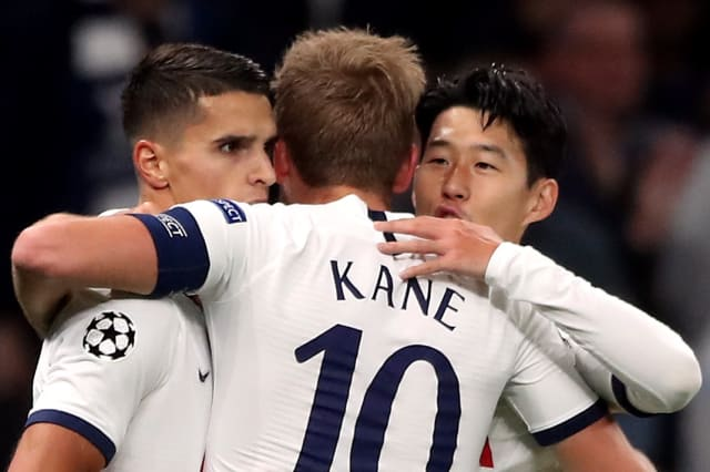 Son and Kane bag braces as five-star Spurs bludgeon Belgrade