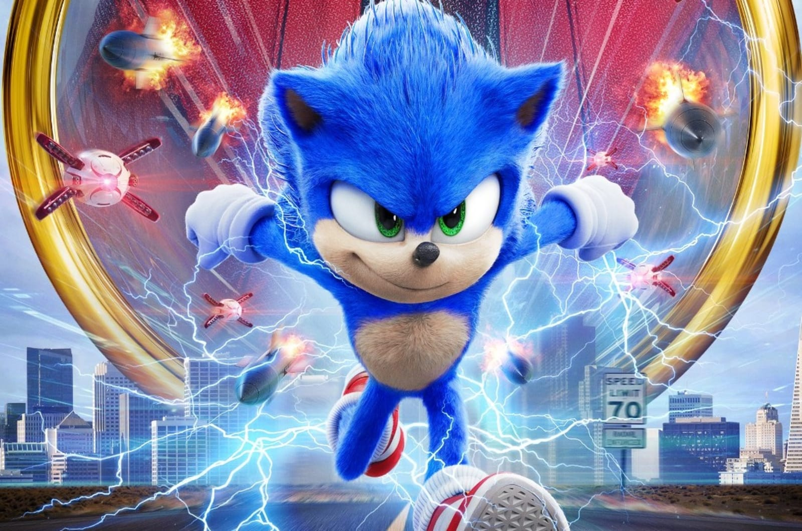 Sonic The Hedgehog Movie Tries Again With A New Trailer Engadget