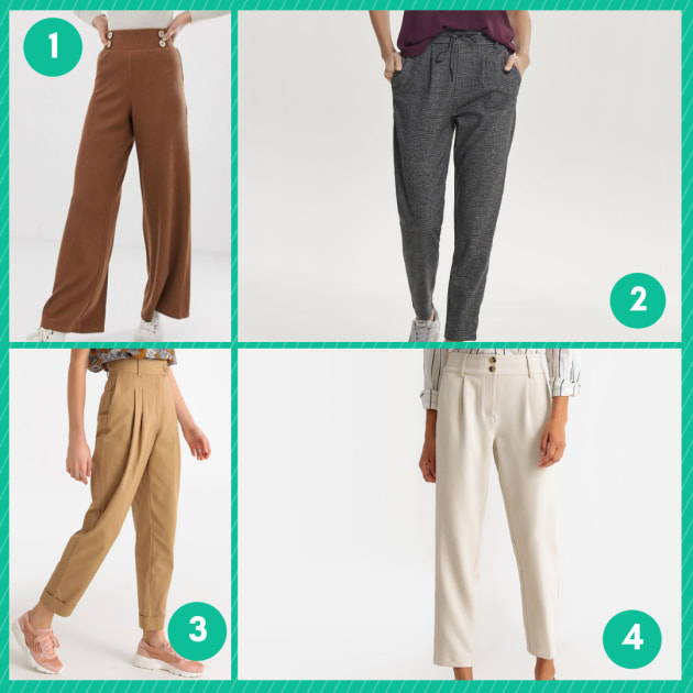 Bureau Et Confortables Femmes 14 Légers Pantalons Au Porter À Pour I7vfyY6bg