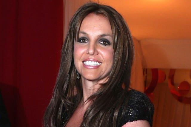 Britney Spears Debuts Brunette Hair During Date Night With Boyfriend Sam Asghari