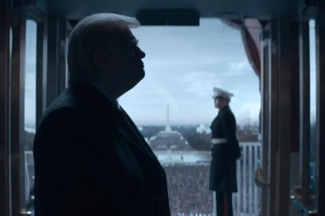 Brendan Gleeson as Donald Trump in The Comey Rule