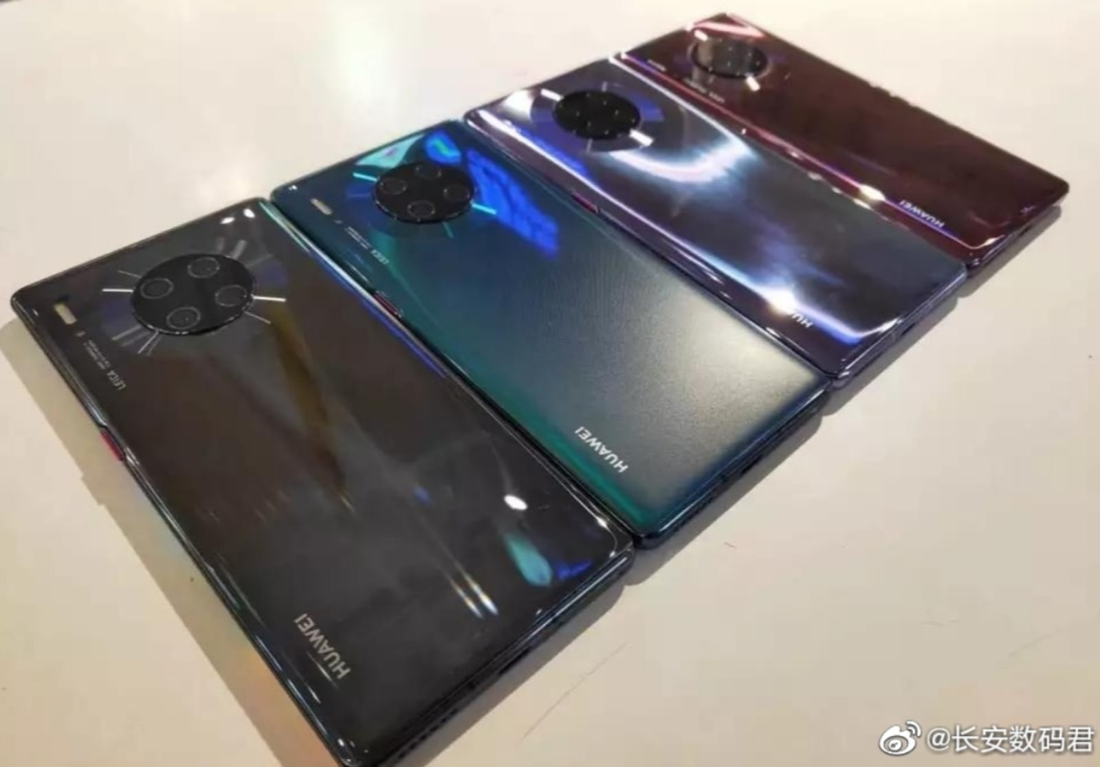 Huge leak spoils Huawei's Mate 30 event