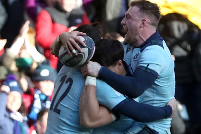 Scotland end France's Grand Slam hopes with stunning win at Murrayfield