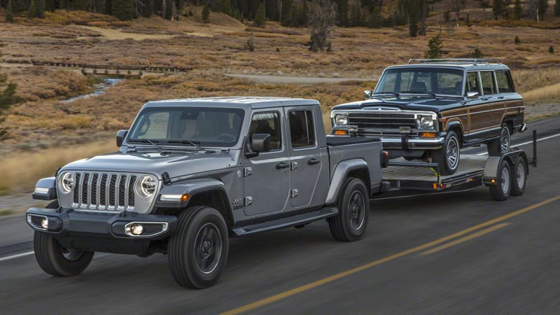2020 Jeep Gladiator pickup truck's full specs and photos revealed