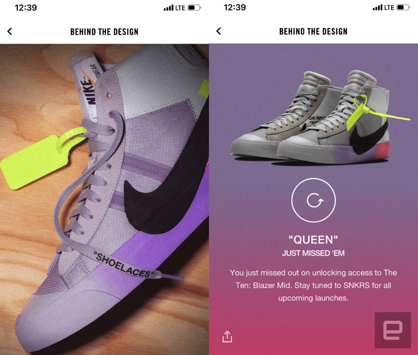 a7970f1a6f25a Nike upset hypebeasts with accidental Android-exclusive SNKRS drop