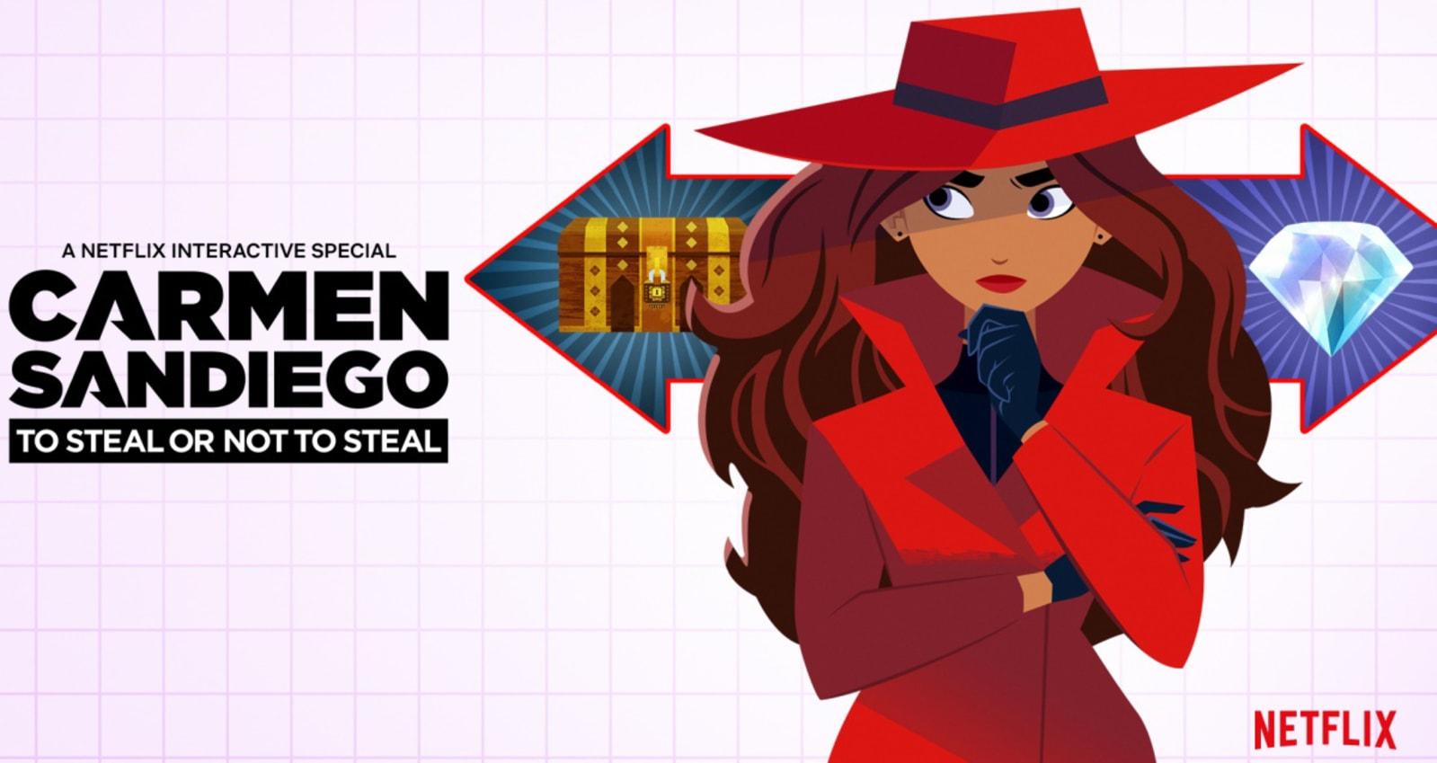 Netflix previews interactive 'Carmen Sandiego' special