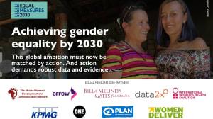 2030年までにジェンダー平等を達成しよう 世界的な大望は根拠あるデータとともに行動することで実現する