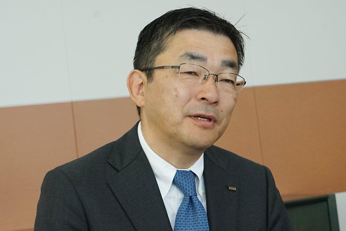 KDDI高橋社長