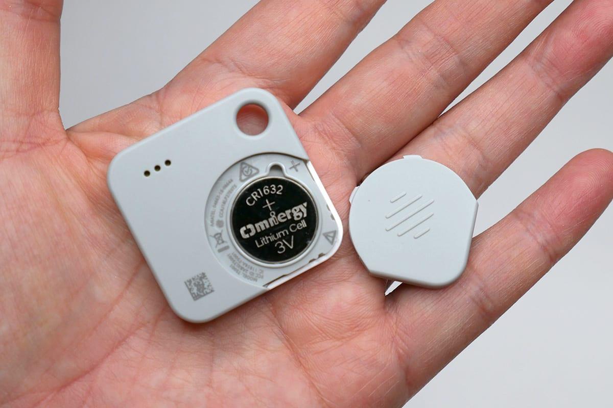 Tile Mateは電池交換ができるモデルです