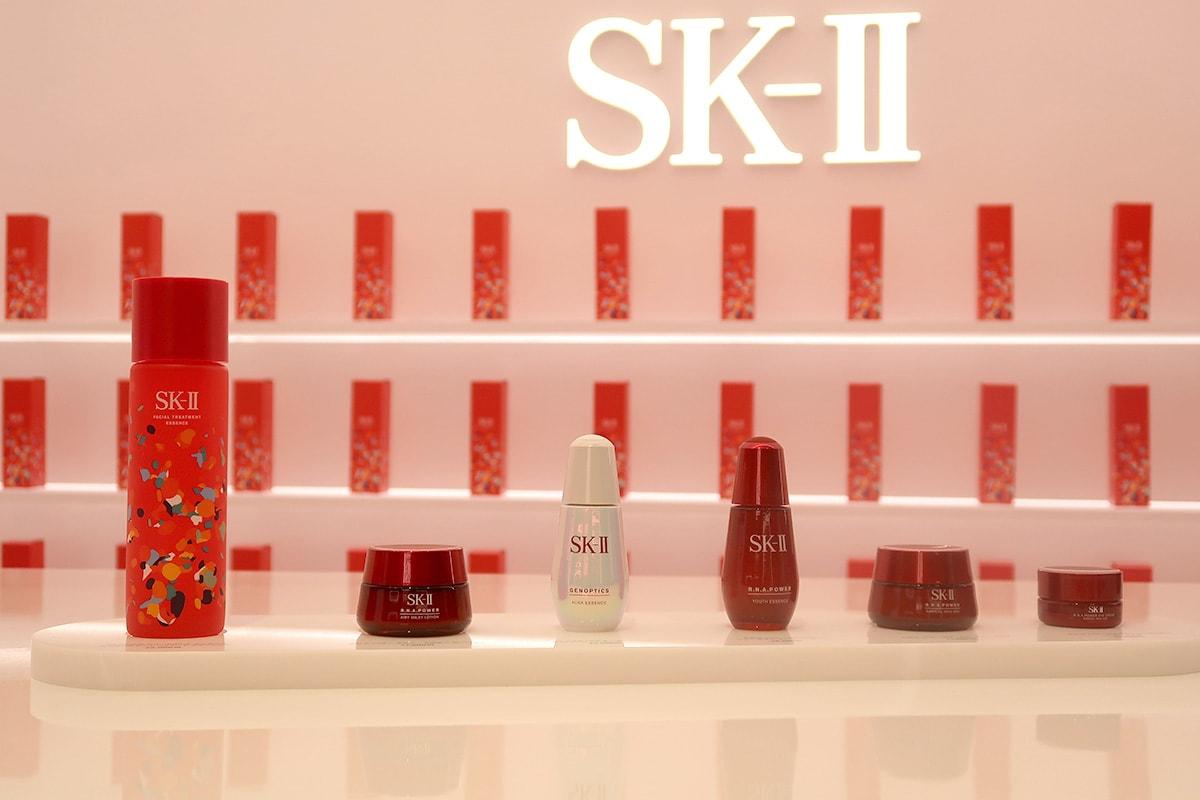 SK-IIの高級スキンケア商品