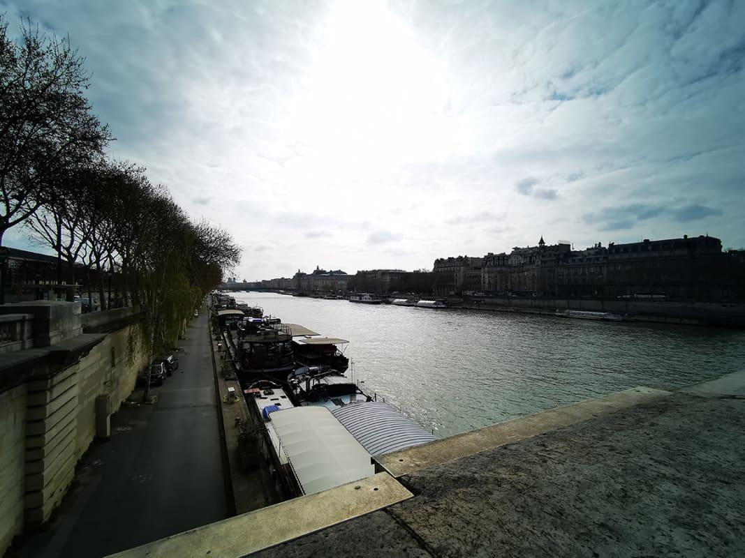P30 Proで撮影したパリの風景