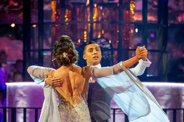 Strictly Come Dancing's Karim Zeroual sheds tears after waltz