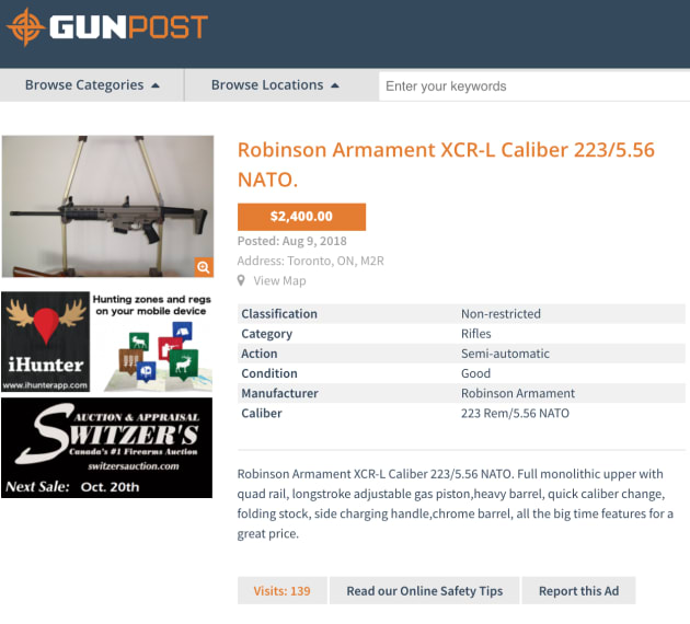 Buying A Gun Online In Canada Is Easier Than You Think | HuffPost Canada