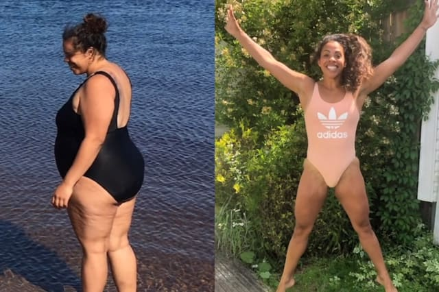 My 125lbs weight loss in a year