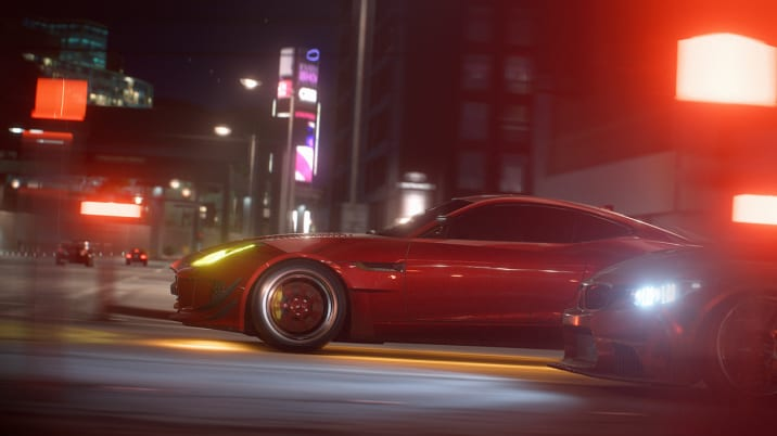 Need for Speed Payback Jaguar F-Type