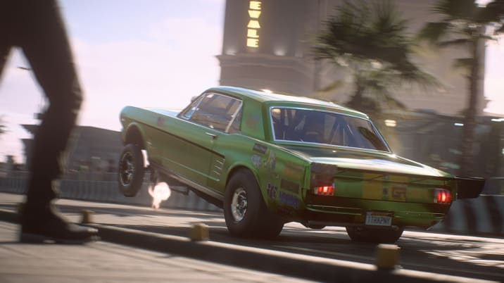 Drag Mustang in Need for Speed Payback