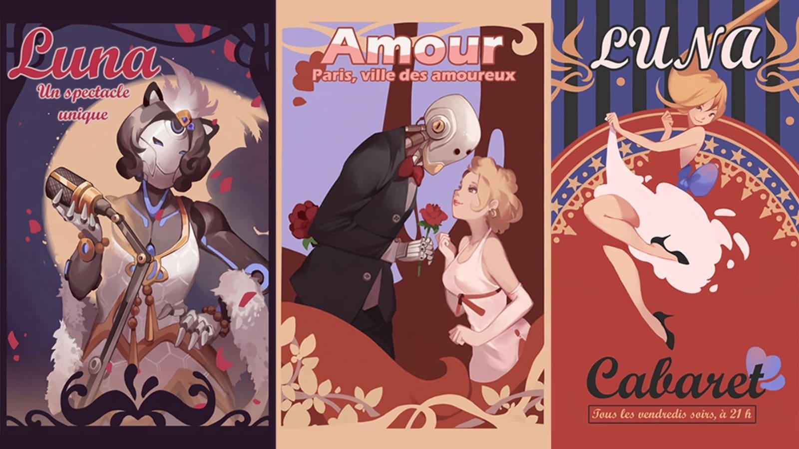 Overwatch Paris posters