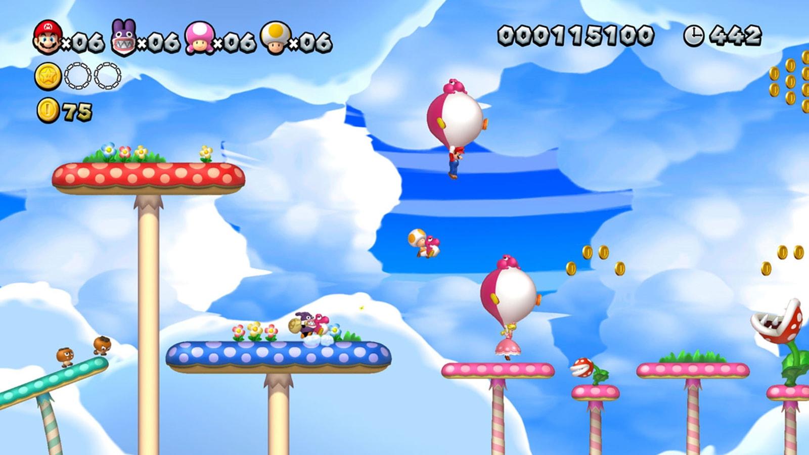New Super Mario Bros  U Deluxe' hits the Nintendo eShop