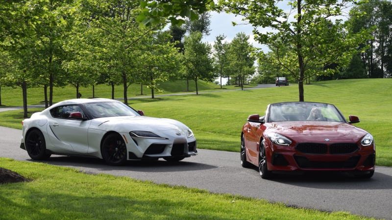 2020 Toyota Supra vs. 2020 BMW Z4