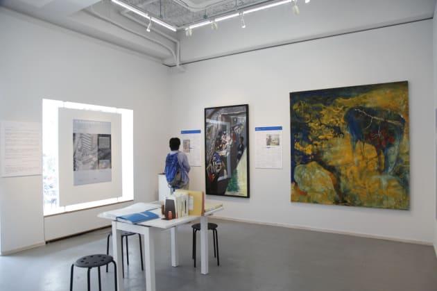 『わたしたちのJR福知山線脱線事故ー事故から10年』展の展示風景