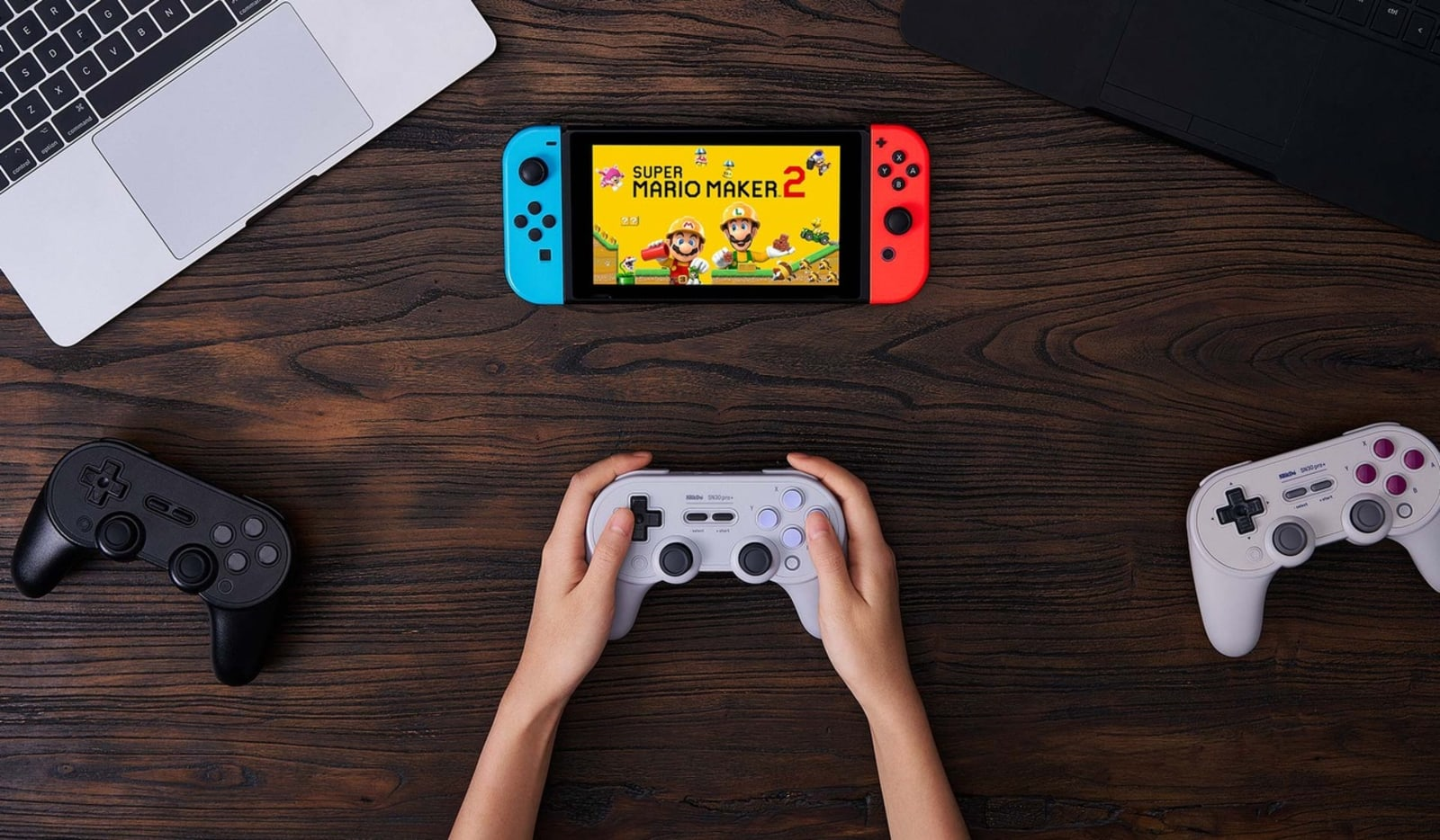 8BitDo's latest controller has fully customizable buttons