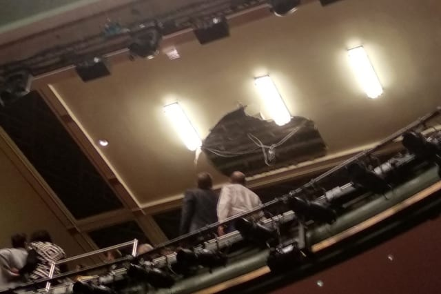 London's Piccadilly Theatre evacuated after ceiling collapse