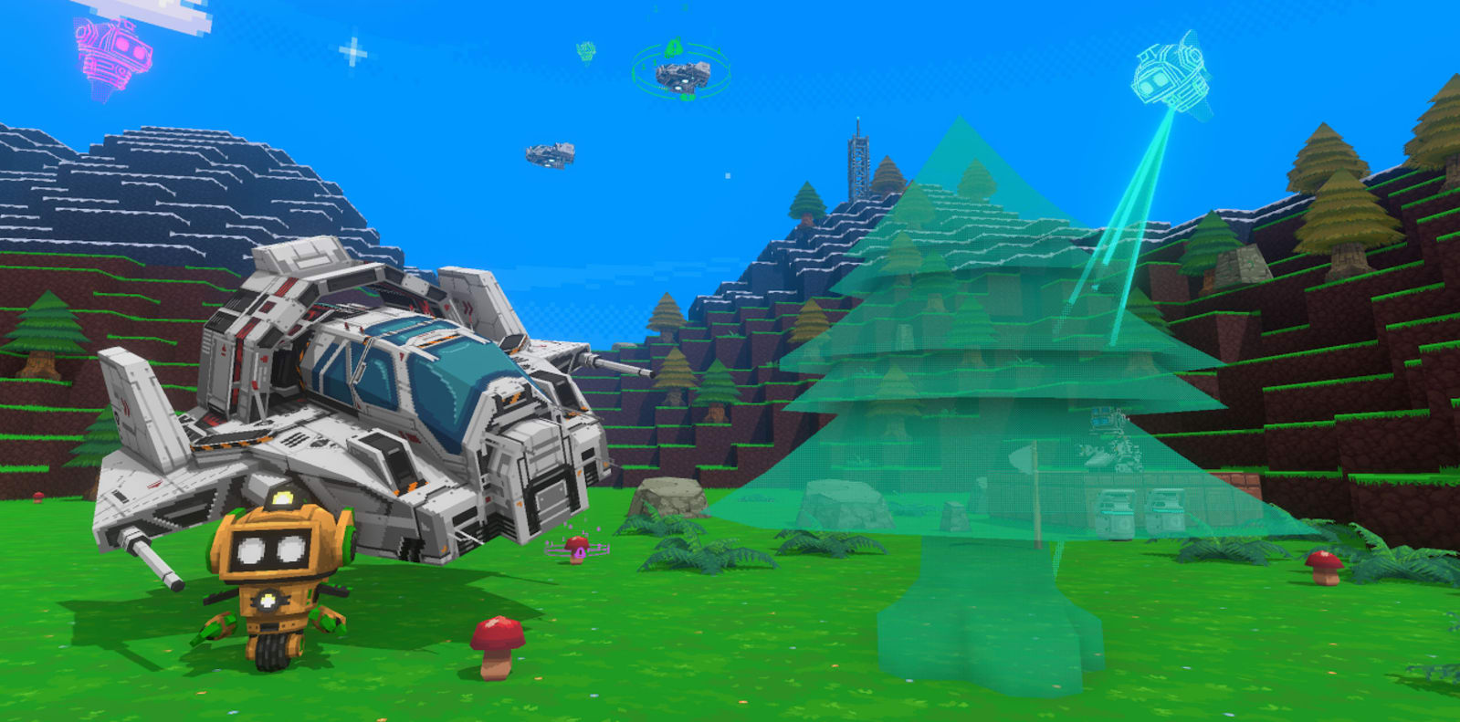 Google's Area 120 made a free, drag-and-drop 3D game builder