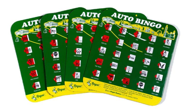 Back seat bingo