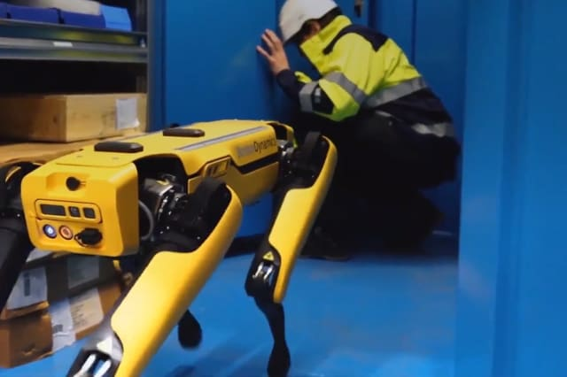Four-legged robot goes to work on Norwegian oil rig