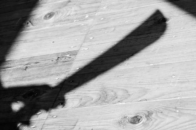 File picture of a machete