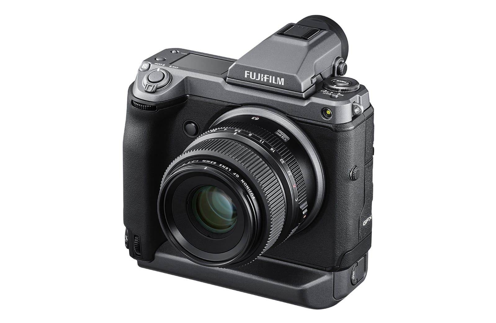 Fujifilm launches the groundbreaking 102-megapixel